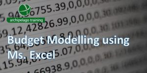 Budget Modelling using Ms. Excel
