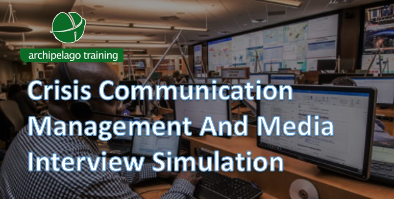 Crisis Communication Management And Media Interview Simulation