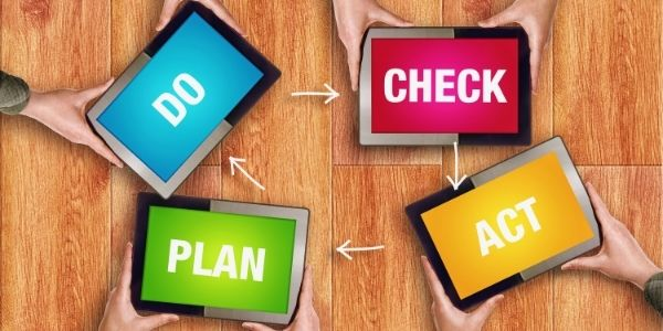 Training PDCA (Plan-Do-Check-Action)