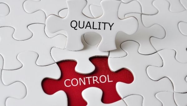 Quality Control of Training