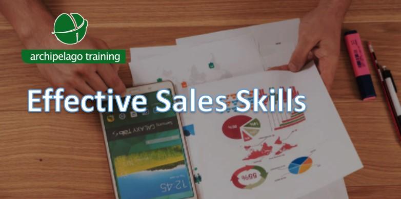 Training Effective Sales Skills